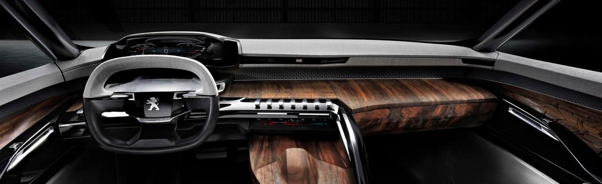 Peugeot Exalt - Le tableau de bord de l'Exalt est doté de la technologie i-Cockpit