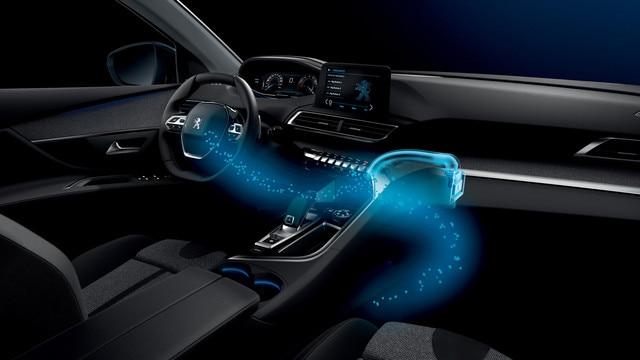 Nouveau SUV PEUGEOT 5008 : Ambiance intérieure personnalisée