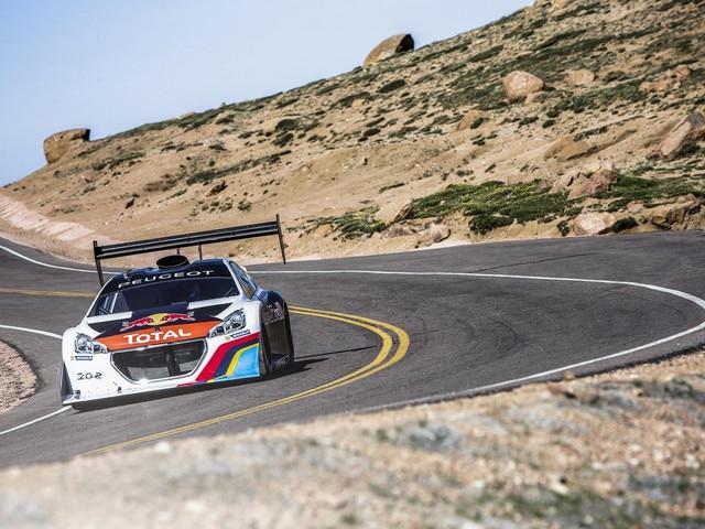 Peugeot Sport - Nouveau record Pikes Peak 2013 Peugeot 208 T16