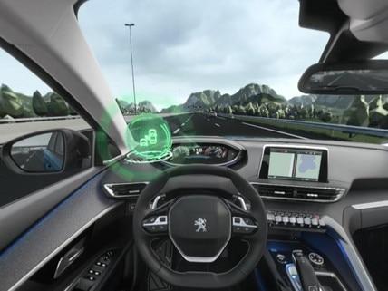 Peugeot SUV 5008 - VR : découvrez l'Active Blind Spot Monitoring en réalité virtuelle