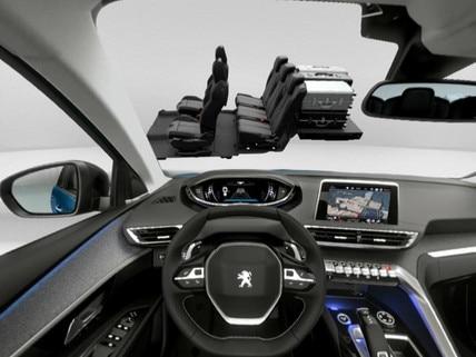 Peugeot SUV 5008 - VR : découvrez le Boot Modularity en réalité virtuelle
