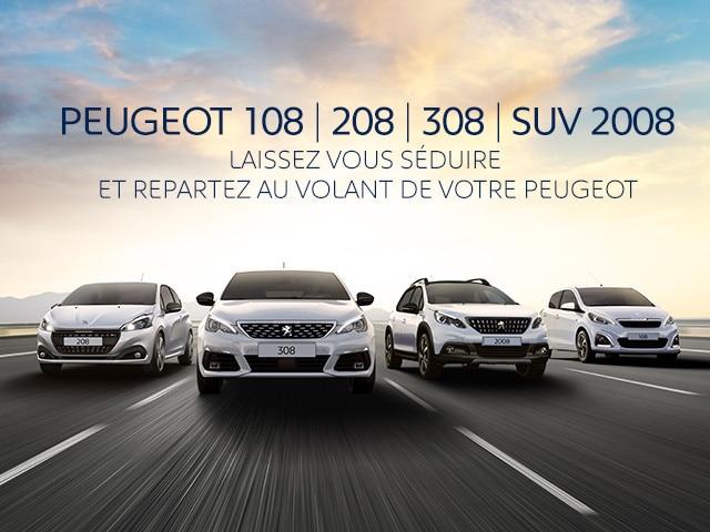 Gamme Peugeot slider