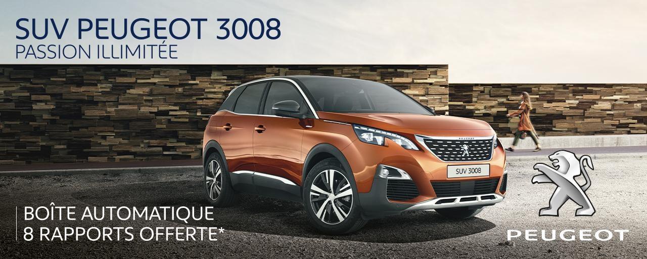 Offre Peugeot 3008