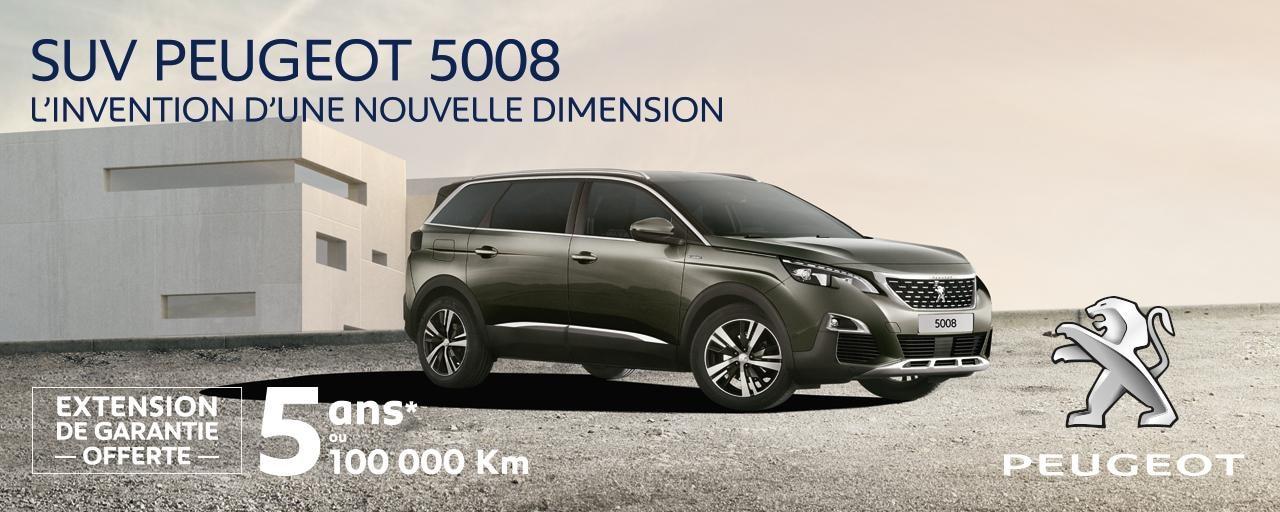 Offre Peugeot 5008