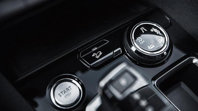 Nouveau SUV PEUGEOT 5008 : Molette de l'Advanced Grip Control
